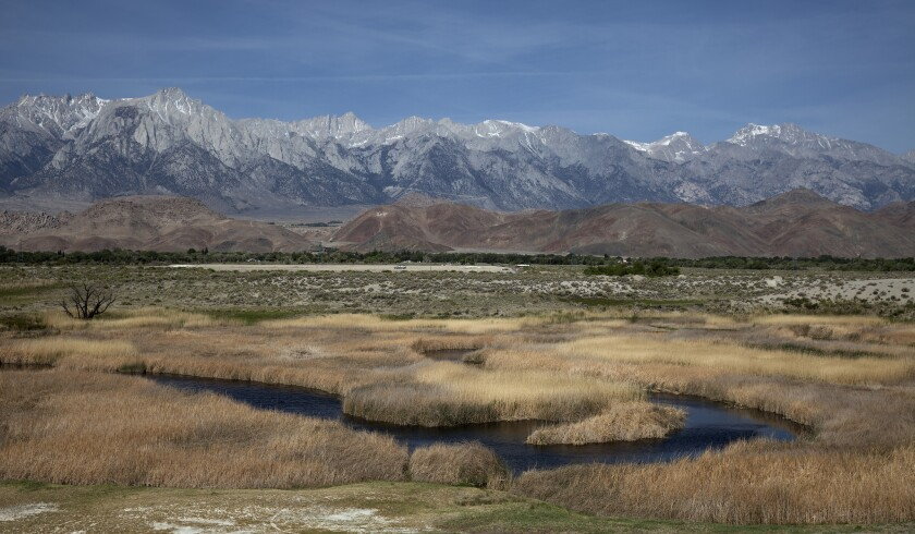 Under the new rule, the Clean Water Act's protections would no longer apply to most small streams and wetlands, including those that are considered vital parts of drinking-water systems and fisheries. Above: Owens Valley.