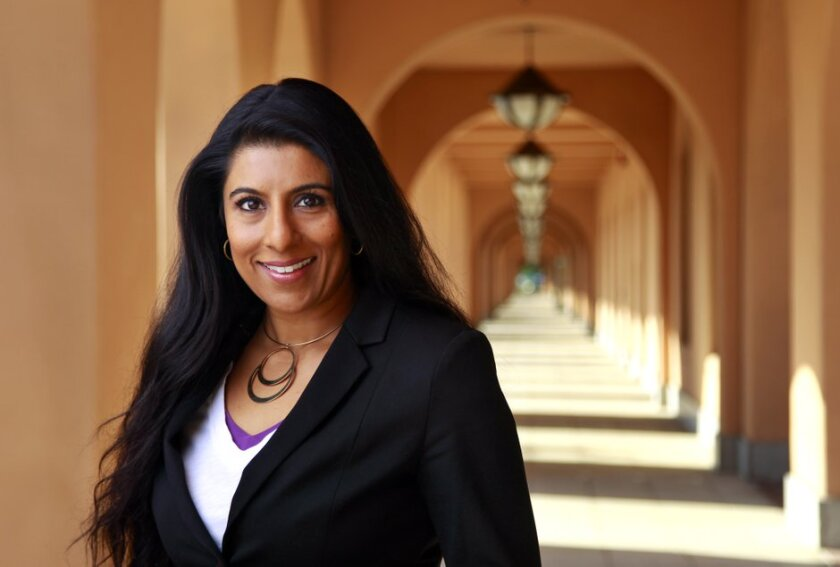 Priti Gandhi, photographed at Liberty Station in San Diego in 2018, is the new artistic director of Portland Opera in Oregon.