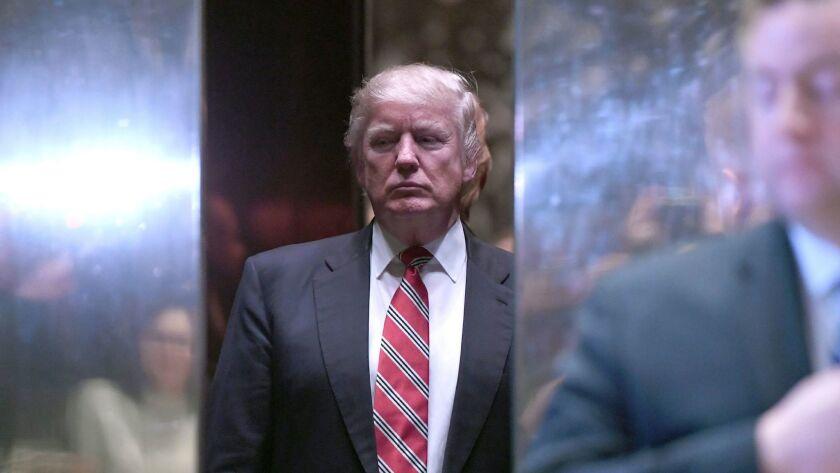 Meetings at Trump Tower