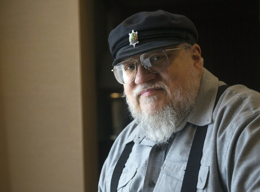 "FILE - In this March 12, 2012 file photo, George R.R. Martin, author of the popular book series ""A S"