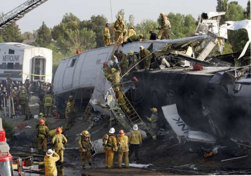 New train safety system unveiled with '08 Metrolink crash in mind