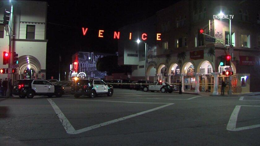 Venice stabbing