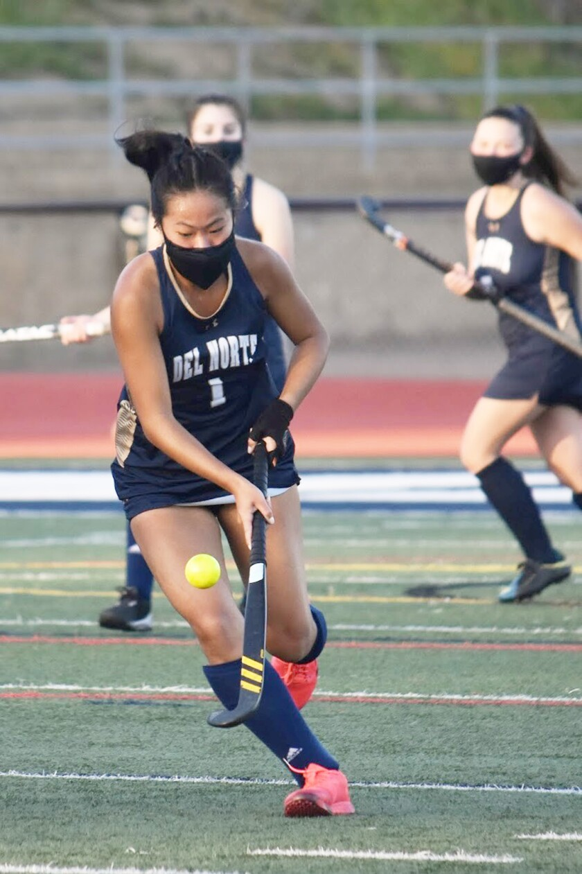 Del Norte High senior Audrey Lee.