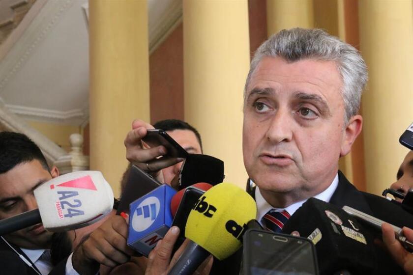 El ministro del Interior de Paraguay, Juan Ernesto Villamayor. EFE/Archivo