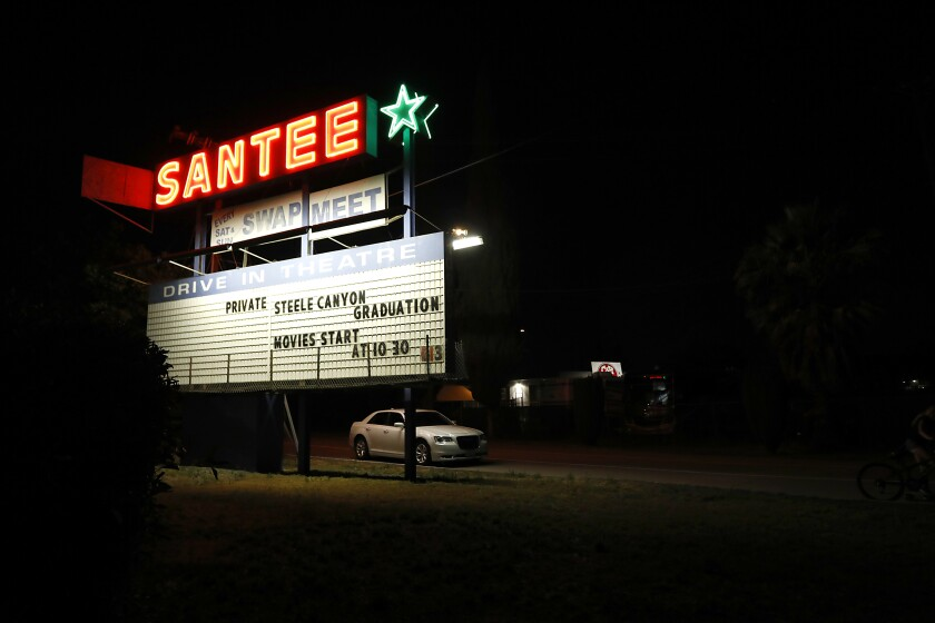 Steele Canyon High School held its graduation celebration at the Santee Drive-In