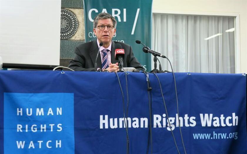 La organización defensora de los derechos humanos Human Rights Watch (HRW) alertó hoy de que el proyecto de Ley de Amnistía, que el Congreso colombiano debate esta semana, puede limitar la posibilidad de juzgar abusos. EFE/ARCHIVO