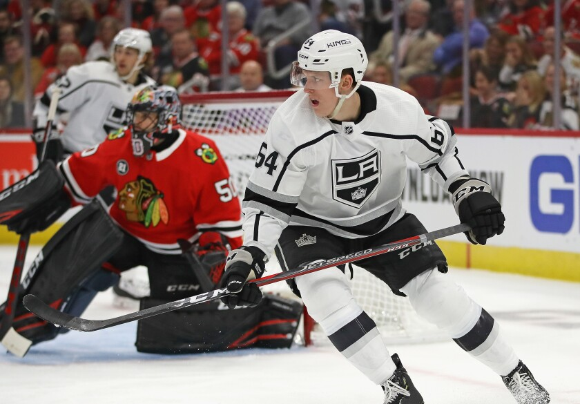 Matt Luff was recalled by the Kings on Wednesday ahead of their game against the New York Islanders.