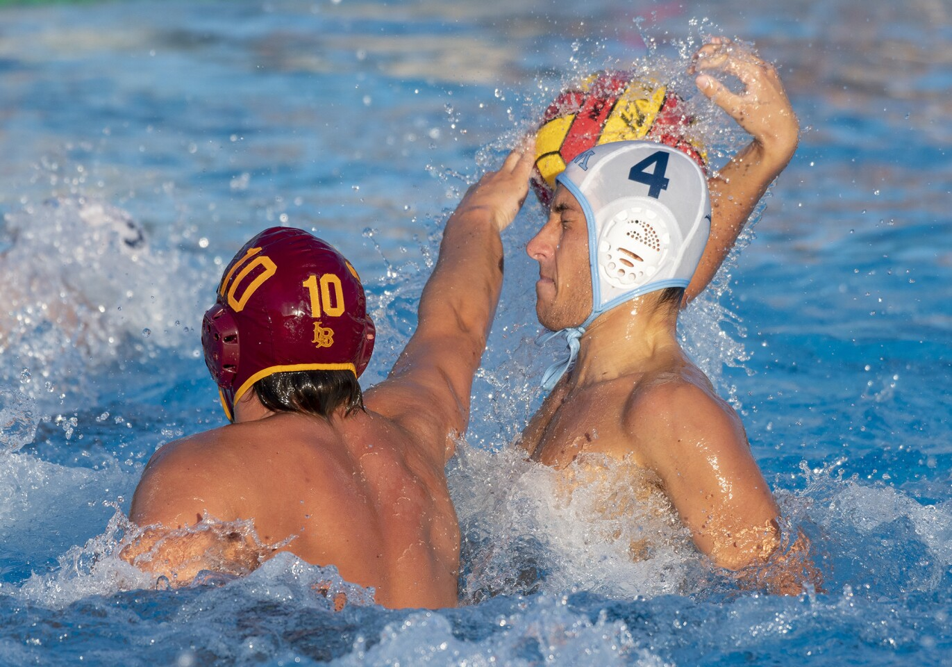 Photo Gallery: Corona del Mar vs. Long Beach Wilson in boys' water polo