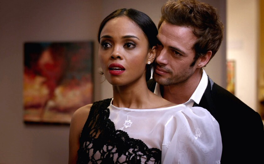A scene from 'Addicted'