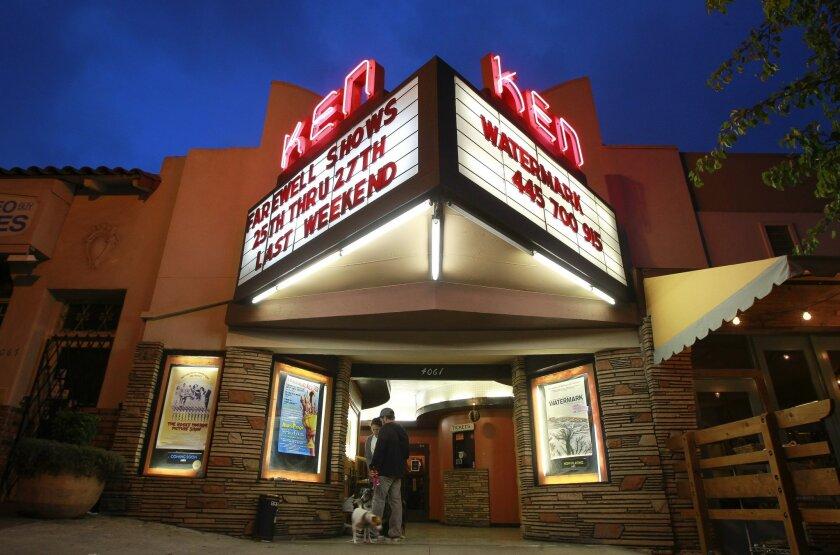 The Ken Cinema in Kensington on Tuesday.