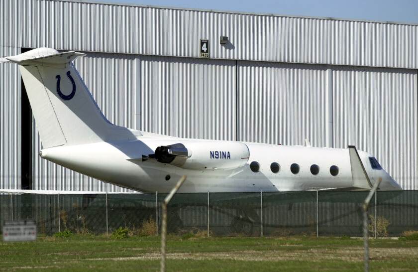 Before the Colts broke ground on a new stadium in 2005 in Indianapolis, Owner Jim Irsay's plane made a stop at Van Nuys Airport as the team explored the possibility of moving to Los Angeles.