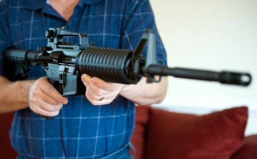 The AR-15 assault rifle. One of these powerful guns was stolen from the car of a leading gun lobbyist.