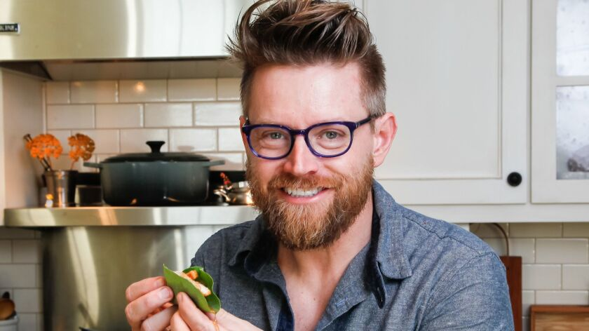 "Chef and Del Mar resident Richard Blais, of ""Top Chef"" fame, said returning to cook at the KAABOO festival is like being back in his own neighborhood."