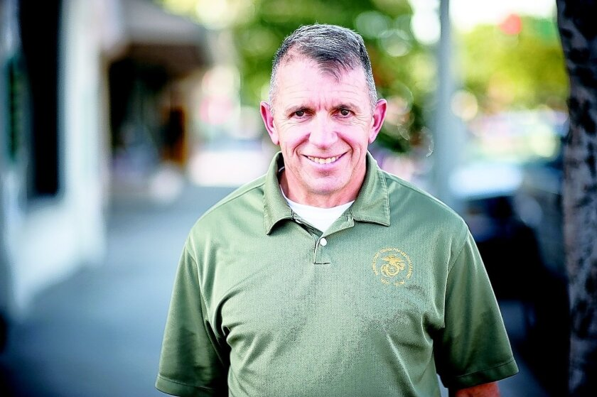 Col. Hank Donigan is halfway to his goal of running 25 marathons this year to raise money for the Semper Fi Fund. Tom Pfingsten