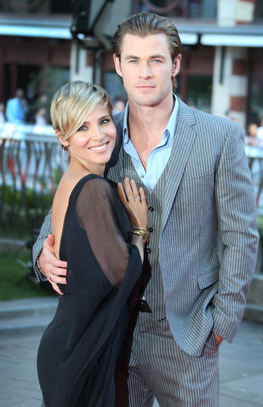 Chris Hemsworth dating 2013