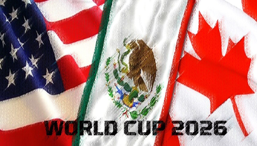 Estados Unidos, México y Canadá son aspirantes a la Copa del Mundo 2026.