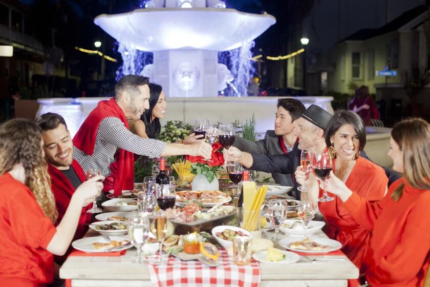 Solo Italiano: Dinner in Rosso.