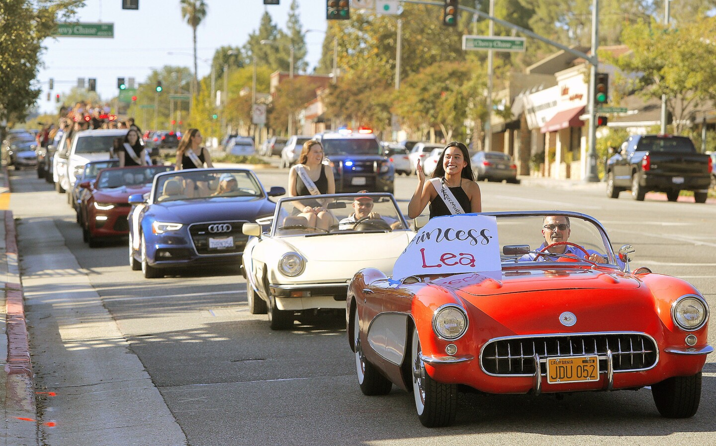 Photo Gallery: La Canada High School homecoming parade on Foothill Boulevard