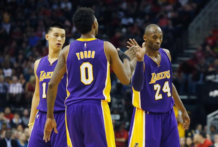 Kobe Bryant, Nick Young