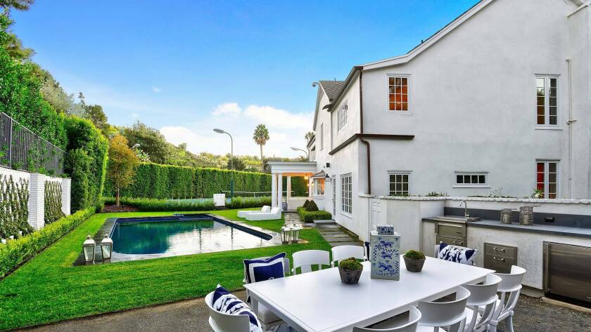 The Beverly Hills estate on Lime Orchard Road was formerly owned by hip-hop mogul Russell Simmons and his ex-wife, Kimora Lee Simmons.