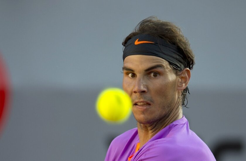 Rafael Nadal is not a fan of playing on concrete.