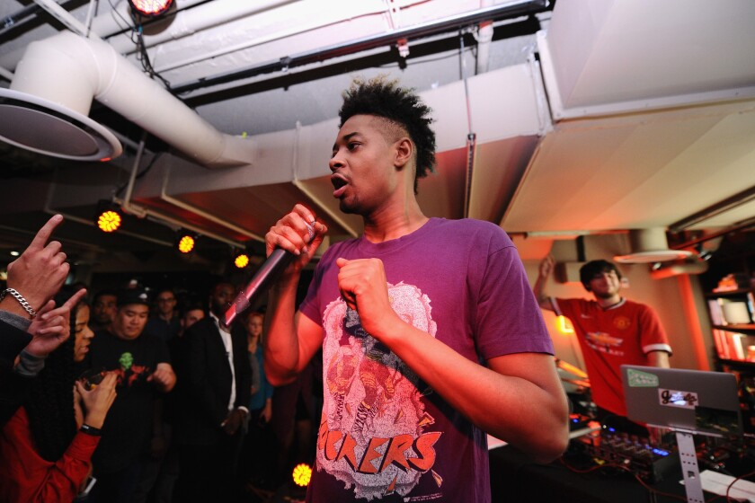 Rapper Danny Brown says he's writing a childrens book.