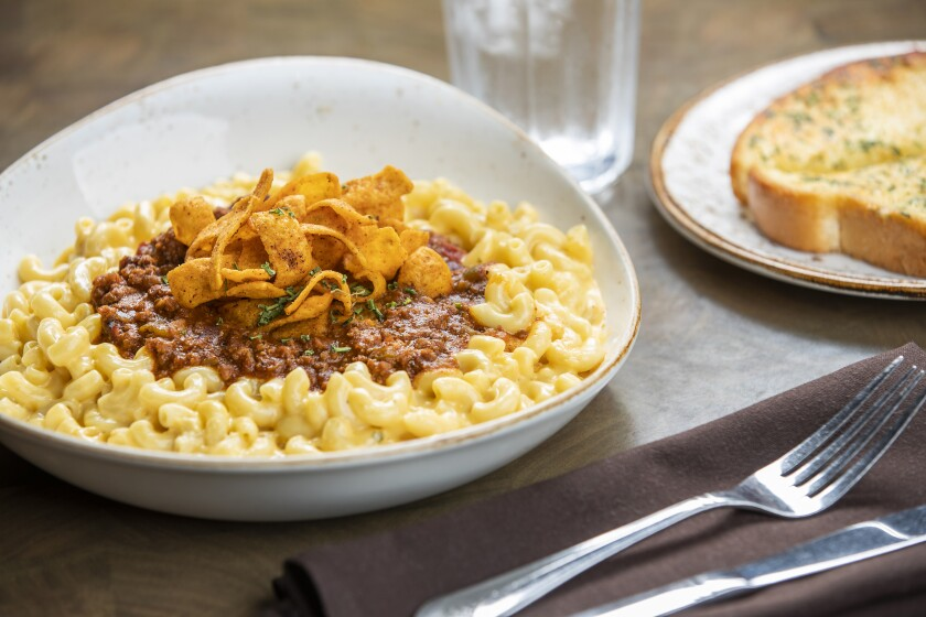 Riggle's Go-To Chili Mac & Cheese from Harrah's Resort Southern California