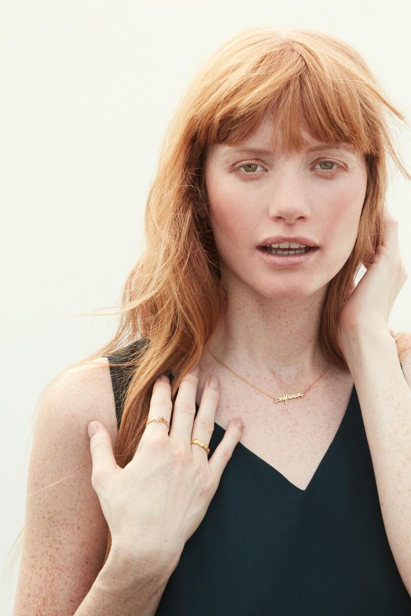 Jewelry collaboration of makeup artist Molly R. Stern and Sarah Chloe Jewelry designer Zahava Ryzman