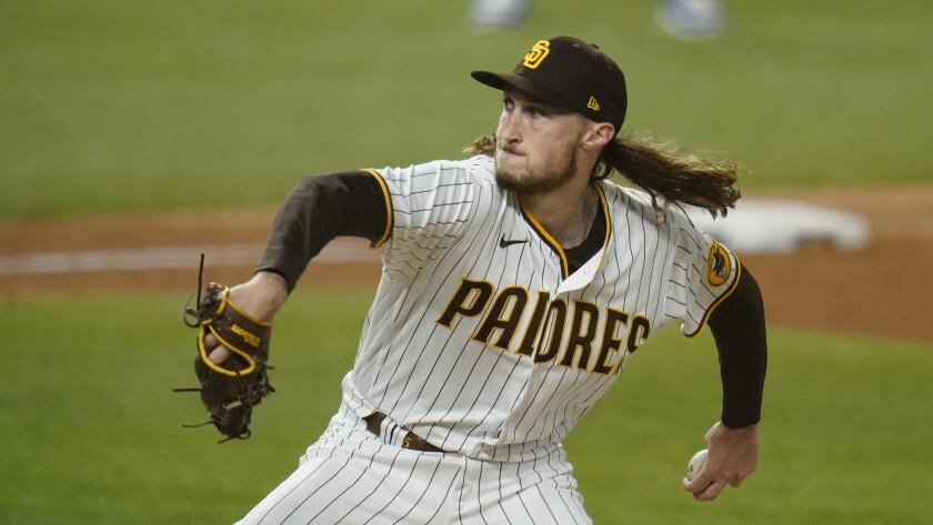 The Padres' Matt Strahm