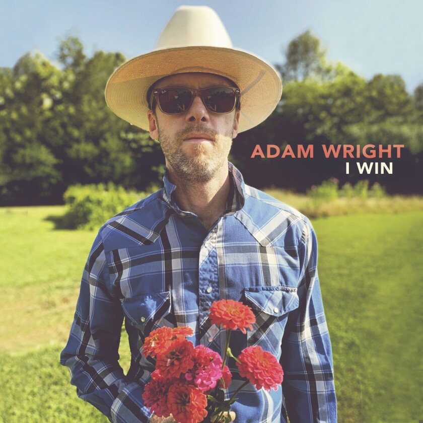 """This cover image shows cover art for the self-released album """"I Win,"""" by Adam Wright. (Adam Wright via AP)"""