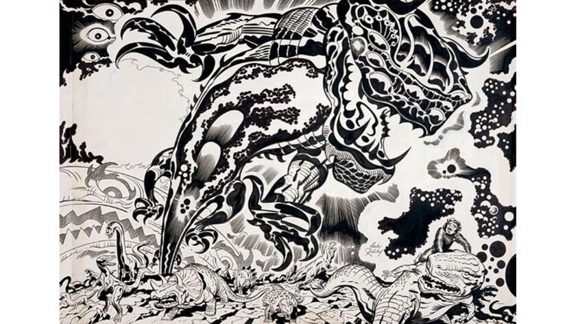 Jack Kirby, Devil Dinosaur