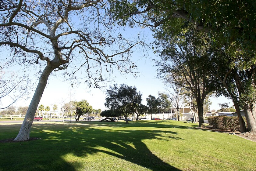 Homeowners associations object to the possibility that Costa Mesa will build housing for the homeless near City Hall at Civic Center Park.