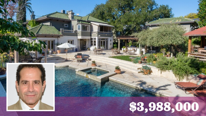 Actors Tony Shalhoub and Brooke Adams have put their charming home in Windsor Park up for sale for $3.988 million.