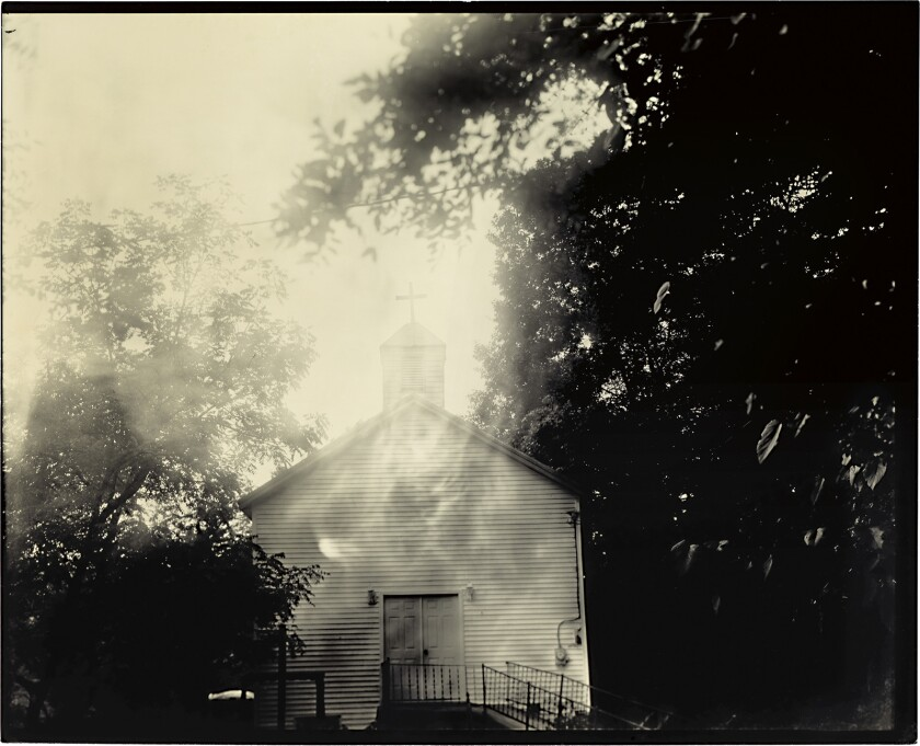 "Sally Mann's ""Oak Hill Baptist, 2008-2016"" is among the photographer's works on display in a new exhibit at the Getty Center."