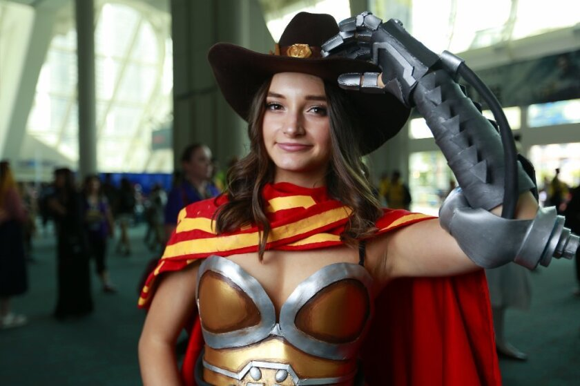 San Diego Comic-Con McCree cosplay