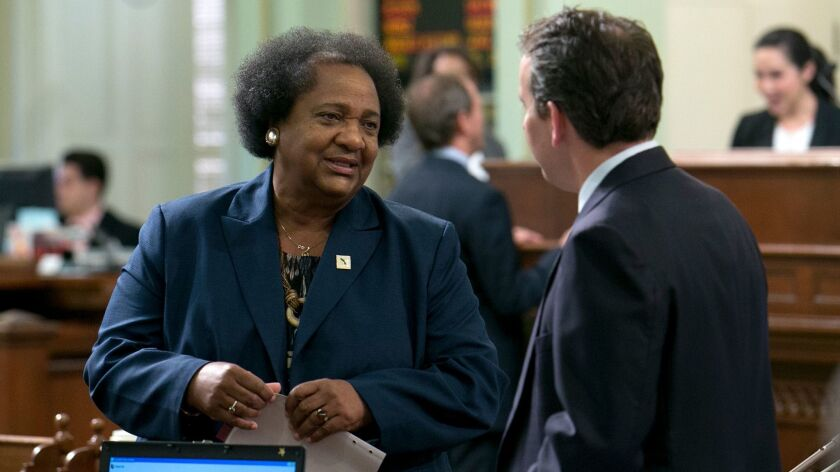 Assemblywoman Shirley Weber (D-San Diego) wrote legislation in 2015 that will force all police departments in California to collect racial and other demographic data from traffic and other stops.