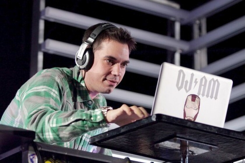 DJ AM, in a May performance at Verizon Wireless Amphitheater, said that after living through the drug abuse of his 20s and a 2008 plane crash he wanted to do something better with his life.