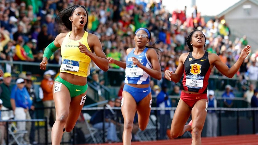 USC drops the baton, but finishes in top 10 at NCAA Outdoor Track and Field Championships