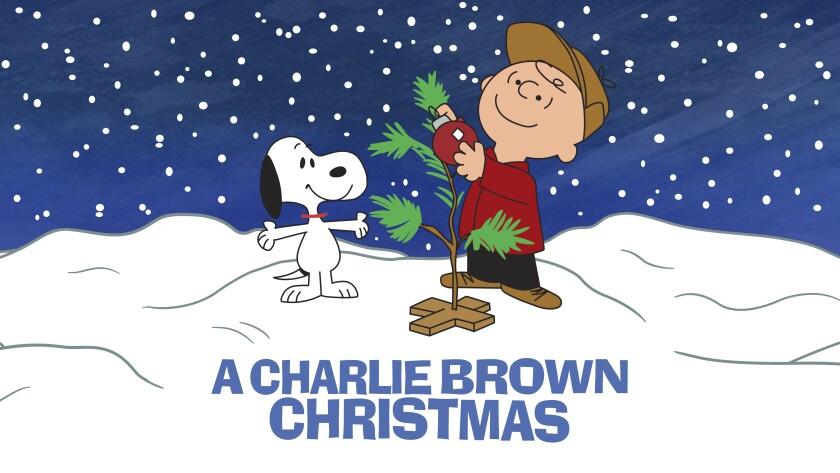 """El arte del clásico animado """"A Charlie Brown Christmas"""" en una imagen proporcionada por Apple."""