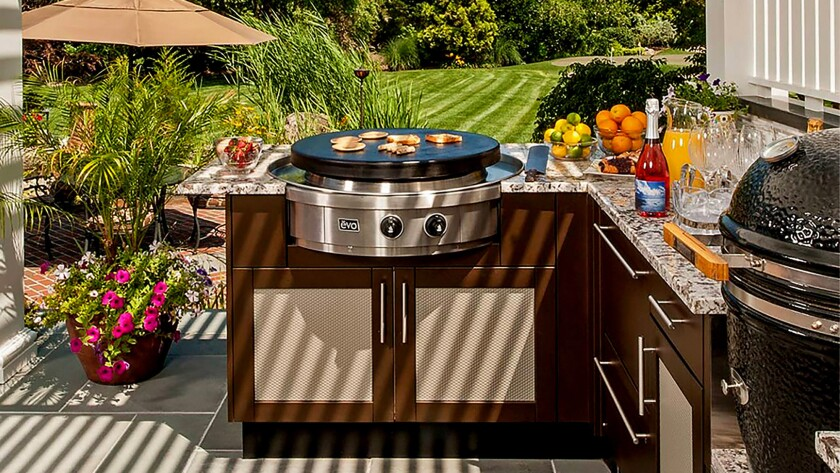 Evo Affinity 30G grill, $3,995, available at Barbecues Galore, Outdoor Elegance, Pirch.