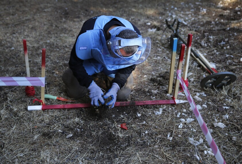Lebanon Demining The Cedars