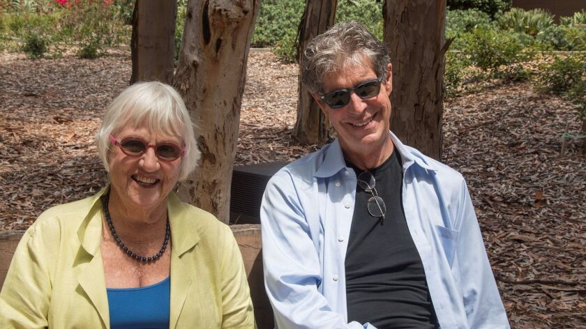The Stuart Collection's dynamic duo: director Mary Beebe and project manager Mathieu Gregoire