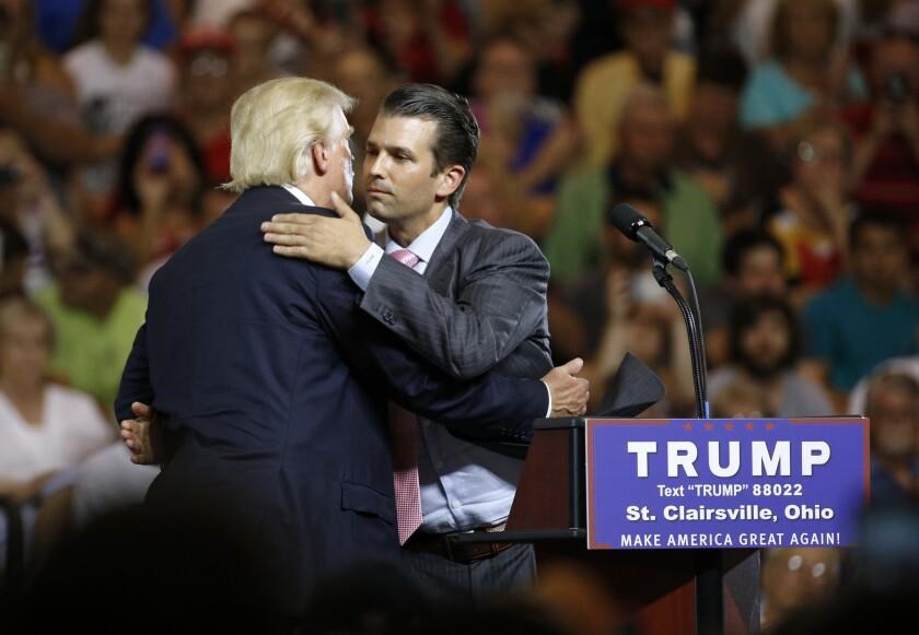 Donald Trump, Donald Trump Jr
