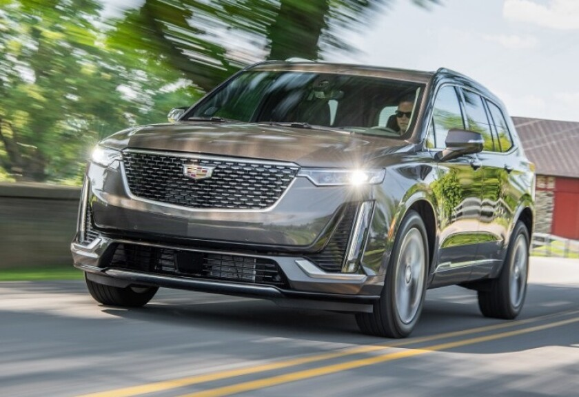The XT6 is sold in two trim levels of Premium Luxury and Sport, both with a 310-hp, 3.6-liter V-6 and nine-speed automatic transmission. The Premium Luxury model brings more of the Cadillac-ness expected; the tester was nearly $72,000 with options.