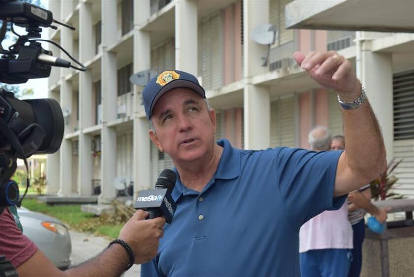 En la imagen, el alcalde del condado Miami Dade, Carlos Giménez. EFE/Archivo
