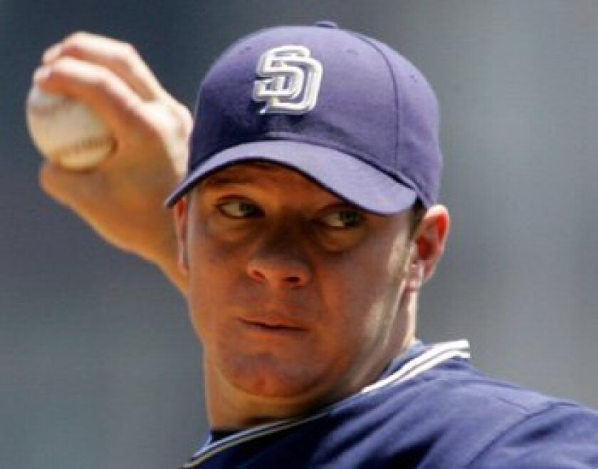 San Diego Padres pitcher Jake Peavy is 4-3 at Petco Park this season with a 1.45 ERA, the lowest home ERA in the major leagues.