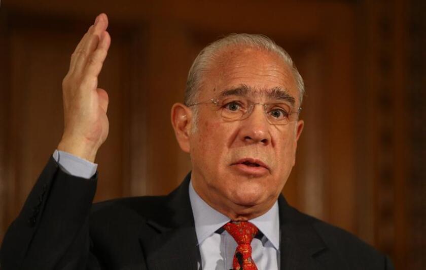 El secretario general de la OCDE, el mexicano Ángel Gurría. EFE/Archivo