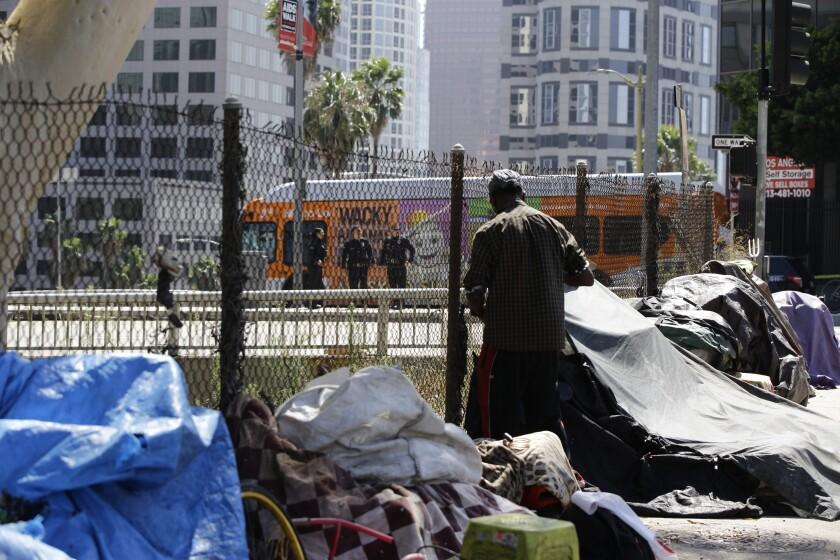 California Homelessness Trump