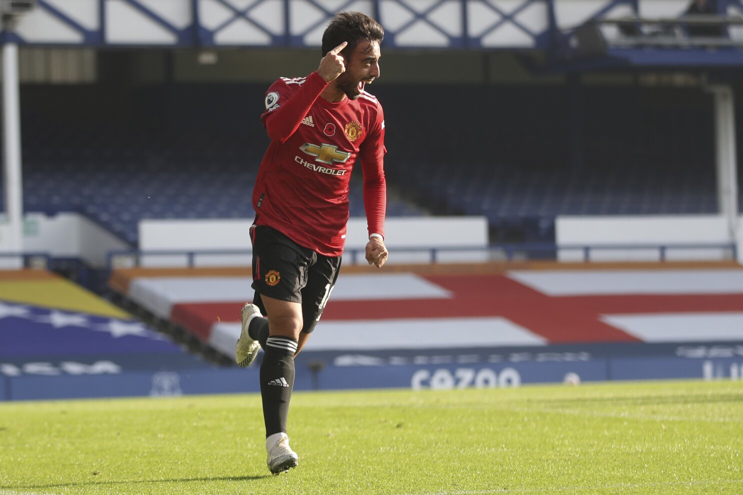 Solskjaer Gets Response As Man Utd Beats Everton 3 1 In Epl The San Diego Union Tribune