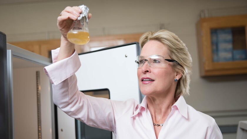 Caltech biochemical engineer Frances Arnold has become the first woman to win the Millennium Technology Prize. Arnold won the $1.1-million award for her work on directed evolution.